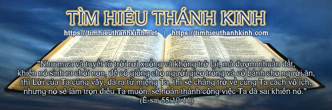 Tim Hieu Thanh Kinh